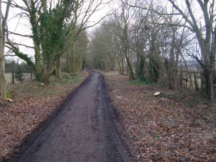 The Alban Way: cycle path widening